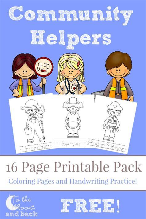 11541 community helpers pictures printables free community helpers pack