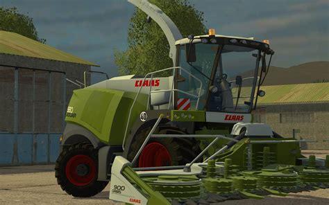 claas jaguar  combine  washable farming simulator