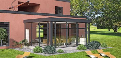 verande finstral veranda finstral a tetto piano allart center