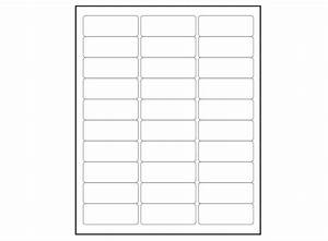 Avery Label Templates Word 6000 Blank 1 X 2 5 8 Address Labels Downloadable Label