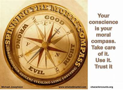 Moral Compass Conscience Poster Josephson Michael Comment