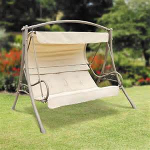 Patio Swings With Canopy Walmart by Suntime Seville Swing Replacement Canopy Garden Winds Canada