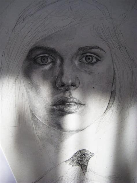 fractured portrait scene