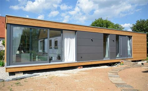 Modulhaus Ein Tiny House Aus Kuben by Cubig Singlehaus Modulhaus Container Homes Tiny House