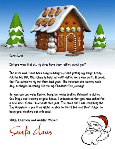 letter  santa template word letter  letter  letter