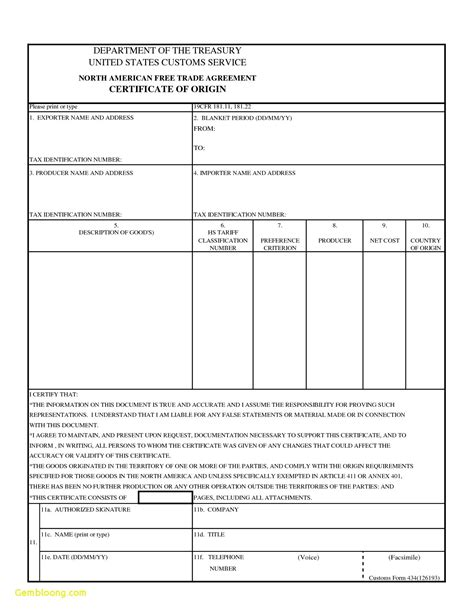certificate  origin template  certificate origin