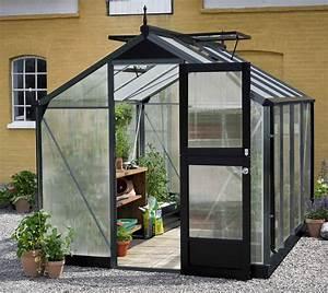 Gartenhaus 4 X 3 : gew chshaus juliana kompakt 6 6m alu anthrazit 10mm doppelstegplatten bei ~ Orissabook.com Haus und Dekorationen
