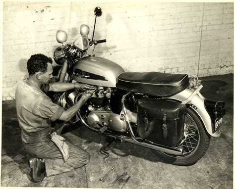 A History Of Police Motorcycles