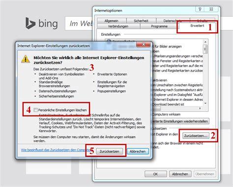 anleitung browser restaurieren zuruecksetzen