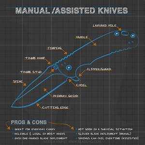 Knife Buyer U2019s Guide Infographic  Part 1  Anatomy Of The
