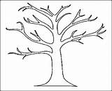 Tree Coloring Oak Trees Printable Drawing Pages Leaves Leafless Bare Palm Autumn Trunk Branch Outline Fall Stump Getdrawings Templates Niagara sketch template