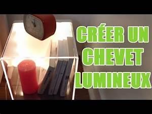 Table De Chevet Transparente : fabriquer une table de chevet design transparente diy d co avec youmakefashion ~ Melissatoandfro.com Idées de Décoration