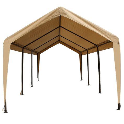 impact shelter heavy grade carport canopy  shelter  home depot canada