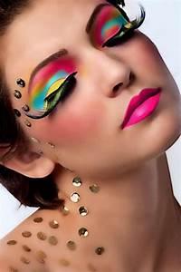 rainbow eye color makeup 1 she12 salon