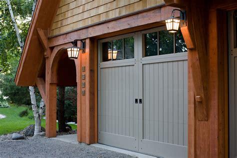 Craftsman Style Garage Door Garage And Shed Craftsman With