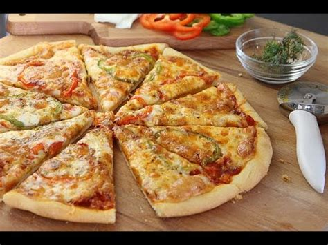 recette de pate a pizza recette de pizza facile easy pizza البيتزا بطريقة سهلة