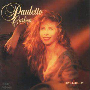 My Personality Chart Love Goes On Paulette Carlson Album Wikipedia