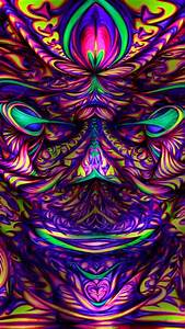 Psychedelic Trippy Artwork Colors Wallpaper 82459