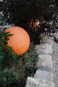 leuchtkugel mundan terracotta 50 cm With französischer balkon mit solar kugelleuchte garten 50 cm