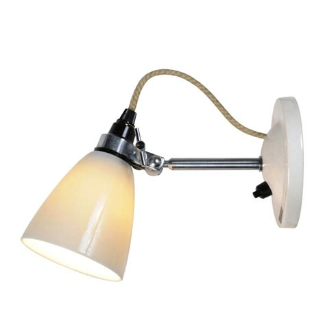 hector small dome wall light switched