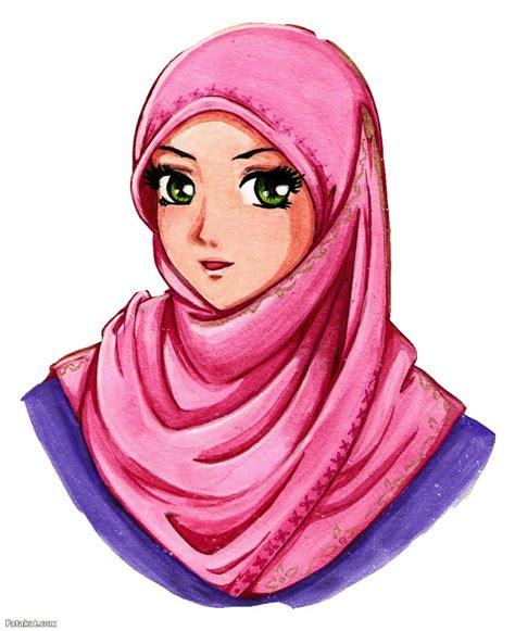 hijab drawing images  pinterest hijab drawing