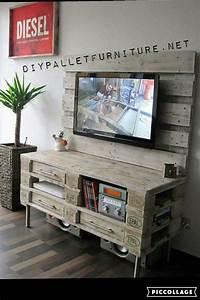 Tv Schrank Aus Paletten Mbel Design Idee Fr Sie