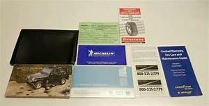 2005 Jeep Wrangler Suv Owners Manual X Sport Rubicon