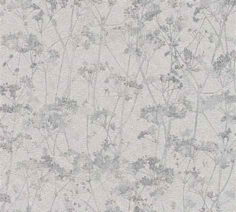 Schöner Wohnen Tapete Grau by Sch 246 Ner Wohnen Tapete Blumen Vintage Grau 35954 3