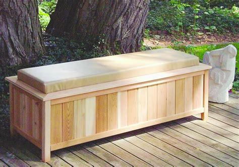 special ideas outdoor storage bench  home redesign