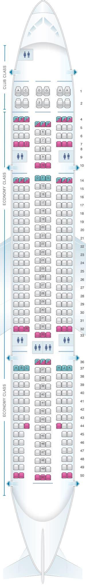 air transat reserver siege plan de cabine air transat airbus a330 200 seatmaestro fr