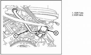 Where Is The Egr Sensor On 2005 Chrysler 300 Touring With