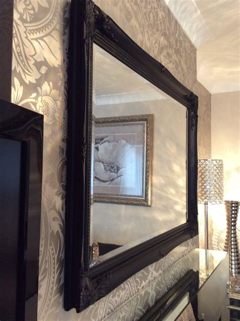 Large Bathroom Mirrors For Sale by 20 Collection Of Black Wall Mirrors For Sale Mirror Ideas