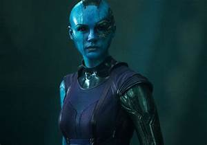 Cool Photo of Karen Gillan as Nebula in GUARDIANS OF THE ...