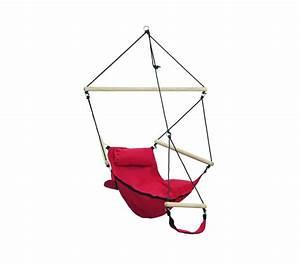 Pied Pour Fauteuil Suspendu : fauteuil suspendu design swinger rouge amazonas ~ Teatrodelosmanantiales.com Idées de Décoration