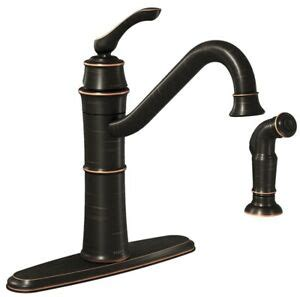moen wetherly brb kitchen faucet  faucet handle