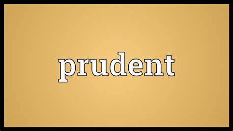 Meaning In by Prudent Meaning