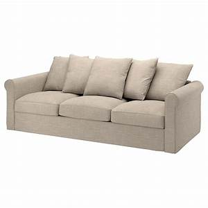 grönlid 3 seat sofa hillared beige ikea
