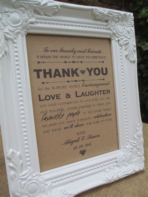 wedding   guests sign white vintage frame personalised
