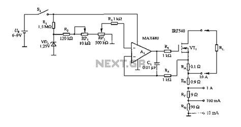 test l circuit load test circuit diagram power