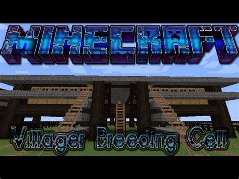 siege bred minecraft villager cell tutorial siege