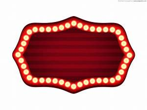 Theater sign template psd psdgraphics for Theatre sign clipart
