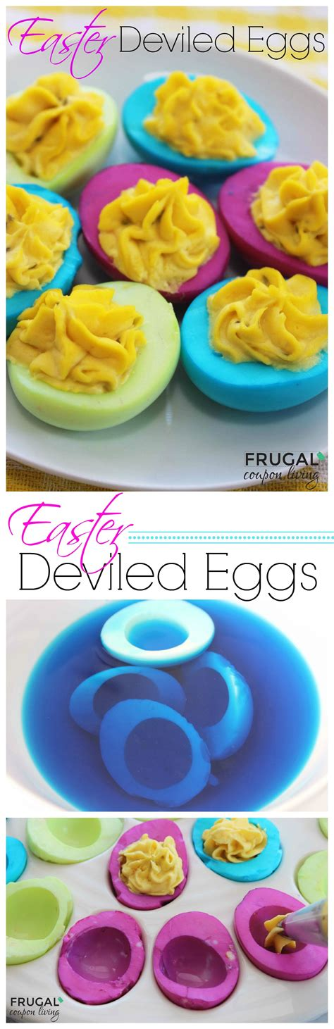 colored deviled eggs for easter easter neon deviled eggs easy colored egg tutorial
