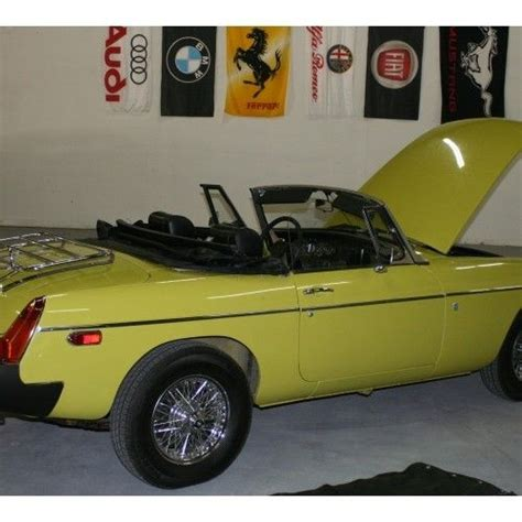 Purchase Used 1975 Mgb Convertible, Classic Mg Sports Car