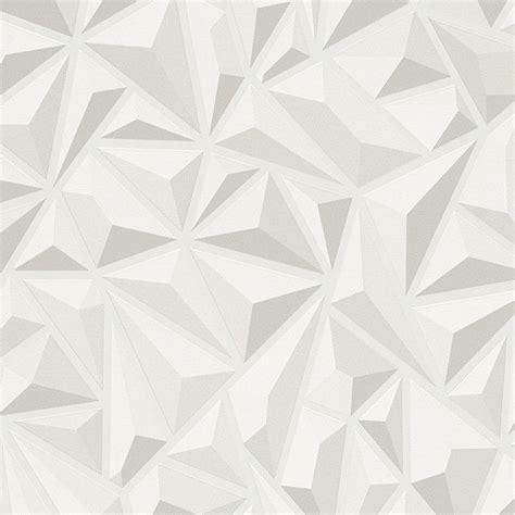 3d Wallpaper Texture Seamless by 3d Effect White Grey Geometric Wallpaper Textured Luxury
