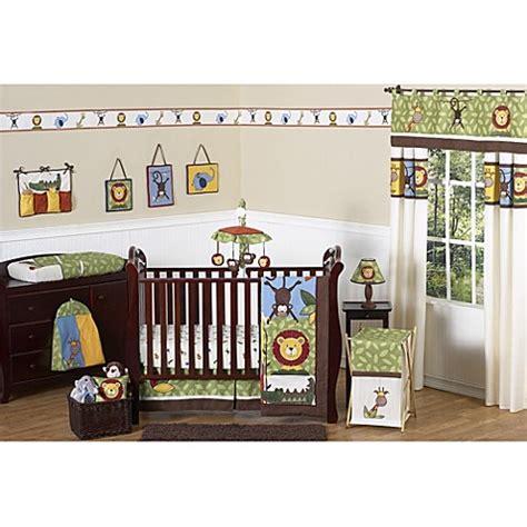 1744 sweet jojo crib bedding buy sweet jojo designs jungle time 11 crib bedding