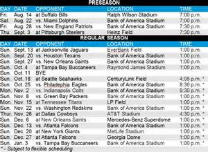 nfl releases 2015 schedule panthers to play on thanksgiving wsoc tv