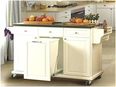 kitchen island with trash can trash can kitchen island kitchen design ideas 8276