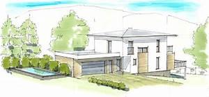 Haus Walmdach Modern : haus plan walmdach mit garage ideen rund ums haus ~ Lizthompson.info Haus und Dekorationen