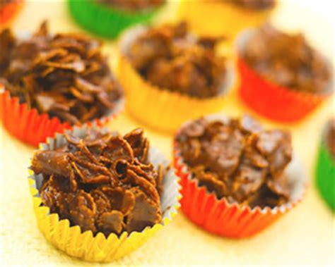 chocolate cornflake cakes good food channel