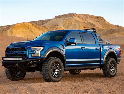 Shelby Ups The F-150 Ante With The 2018 Shelby Raptor Baja